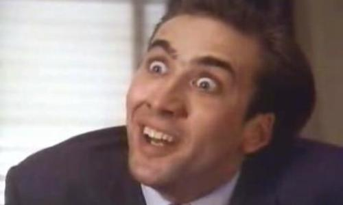 Placeholder images of Nicholas Cage