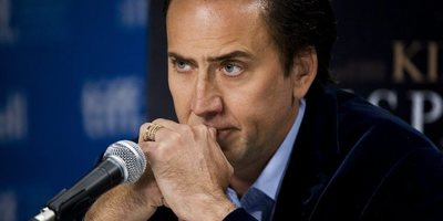 A picture of Nicolas Cage